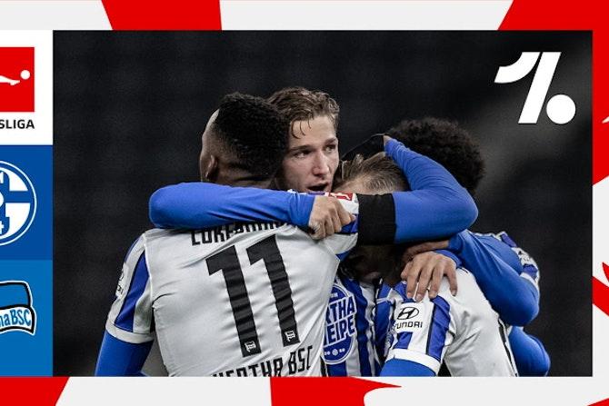 El mejor resumen del FC Schalke 04 vs. Hertha BSC   05/12/2021