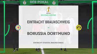 Preview image for DFB Pokal Highlights: Eintracht Braunschweig 0-2 Borussia Dortmund