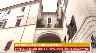 Anteprima immagine per Roma: Mourinho, la casa a Palazzo Taverna