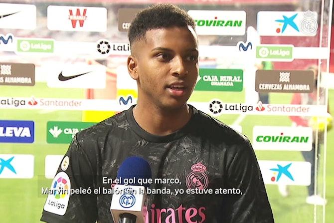 Rodrygo: 'Podemos ganar la Liga'