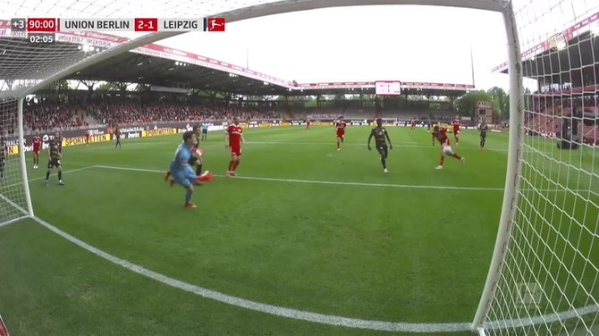 Max Kruse with a Spectacular Goal vs. RB Leipzig