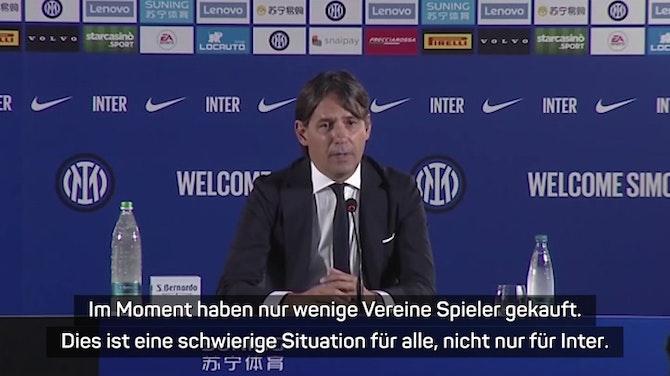 """Vorschaubild für Inzaghi: Erwarte Eriksen """"mit offenen Armen"""""""