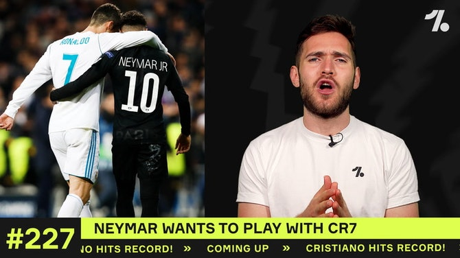 3 ways Neymar and Ronaldo can play together