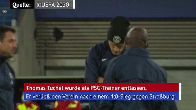 PSG bestätigt Tuchel-Entlassung