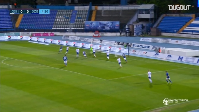 Preview image for GNK Dinamo Zagreb draw against Osijeka