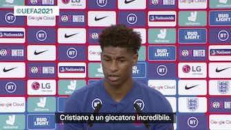 "Anteprima immagine per Rashford: ""Ronaldo? Battere record è normale per lui"""