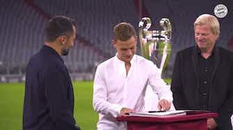 Image d'aperçu pour Le Bayern Munich prolonge Joshua Kimmich