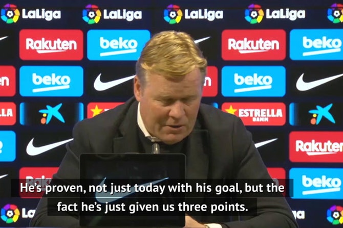 Koeman hopes to keep Dembele at Barca