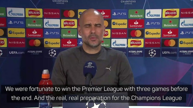 No telling if Premier League title helps City v Chelsea - Guardiola