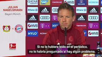 Imagen de vista previa para Nagelsmann cuenta con Lucas Hernández pese a los problemas legales