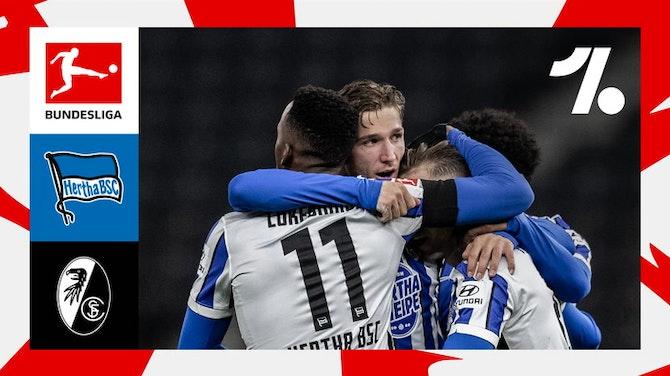 Hertha vence o Freiburg e respira aliviado na Bundesliga
