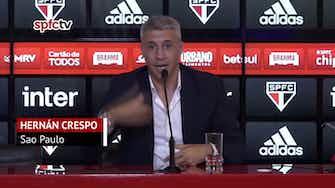 """Imagen de vista previa para Crespo: """"El equipo nunca puede traicionar lo que nos llevó a amar al fútbol"""""""