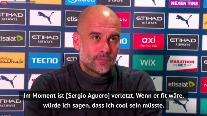 """Pep zu Aguero: """"Manchmal muss ich unfair sein"""""""
