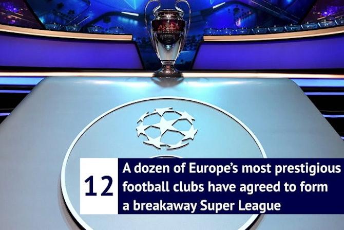 What is the European Super League?