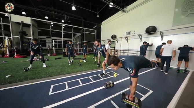 Preview image for Club América's training session at Nido Águila