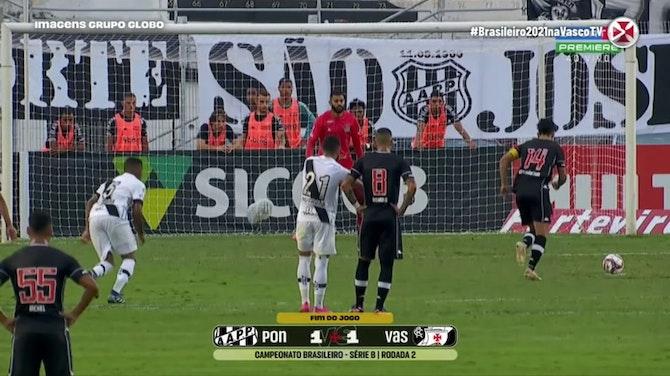 Vasco draw against Ponte Preta at Moisés Lucarelli