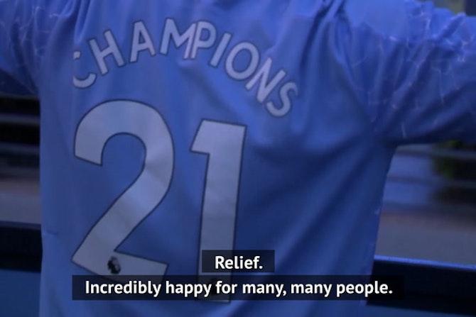 Premier League the toughest 'by far' - Guardiola relieved after City seal title