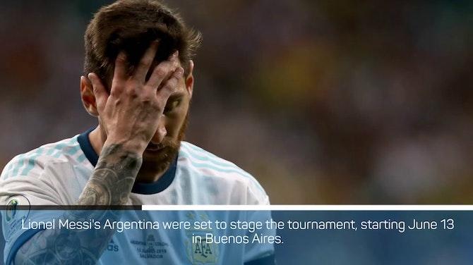 Argentina won't host Copa America