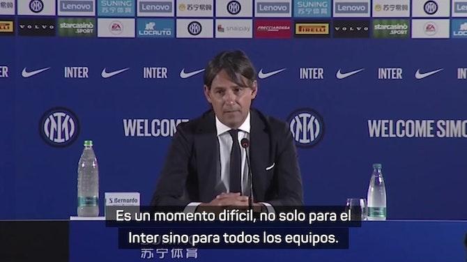 "Imagen de vista previa para Inzaghi: ""Sabía que Hakimi se iba a marchar"""