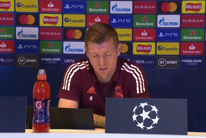 "Kroos, en titulares: ""Vamos a darlo todo para poder pasar a la final"""