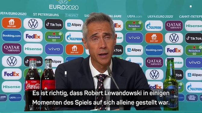 Sousa enttäuscht: Lewandowski im Stich gelassen