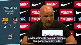 "Imagen de vista previa para Paco López: ""Nos hemos equivocado absolutamente en todo"""