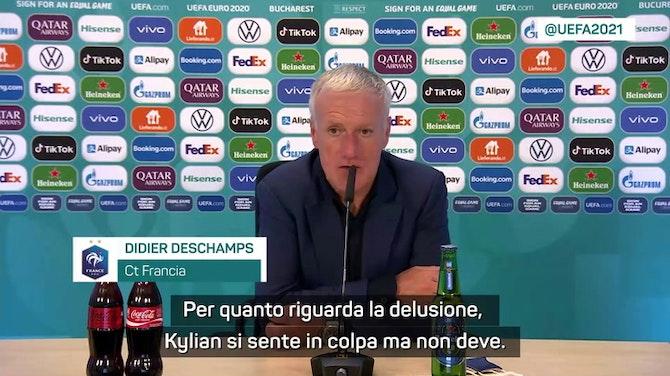 "Anteprima immagine per Deschamps: ""Mbappé non ha colpa"""