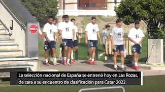 Imagen de vista previa para España entrena con alegría y pasa página antes de enfrentar a Georgia