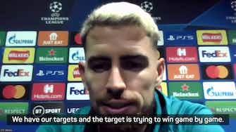 Preview image for Jorginho assures fans of Chelsea's lofty goals