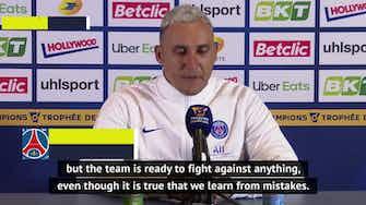 Preview image for PSG want trophies, not revenge - Navas