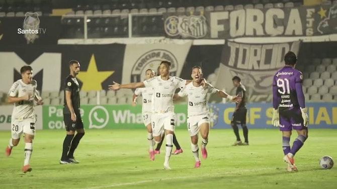 Santos vence o Ceará na Vila Belmiro; veja os gols