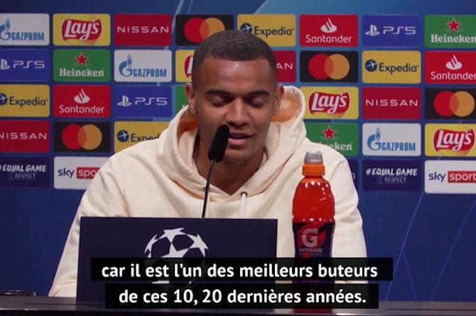 "Quarts - Akanji : ""J'espère jouer contre Aguero"""