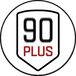 Logo: 90PLUS