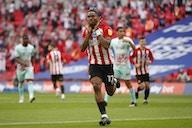 Transfer development involving EFL club, Brentford and West Ham emerges over 33-goal ace