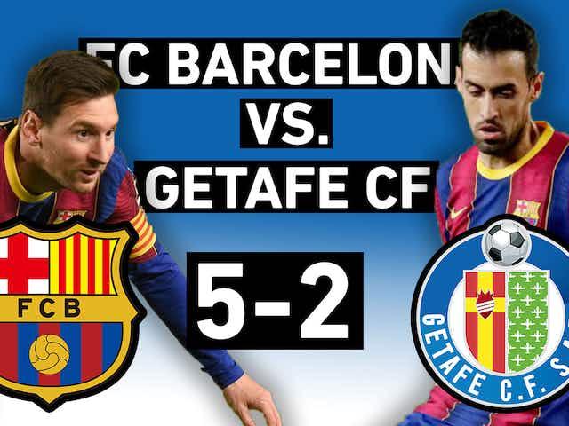 Barcelona vs. Getafe 5-2   Messi brace, own goals, and penalties   La Liga Review