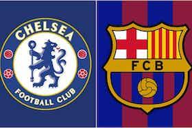 Article image: https://image-service.onefootball.com/crop/face?h=810&image=https%3A%2F%2Ficdn.caughtoffside.com%2Fwp-content%2Fuploads%2F2020%2F07%2Fchelsea-badge-barcelona-badge.jpg&q=25&w=1080