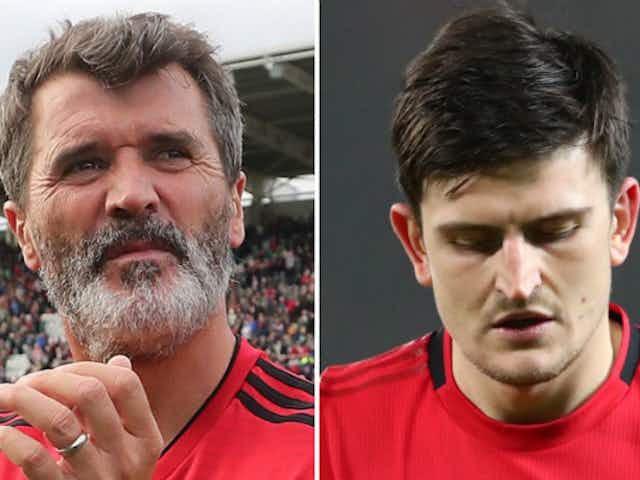 Man United legend Roy Keane on Harry Maguire