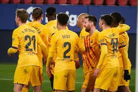 Article image: https://image-service.onefootball.com/crop/face?h=810&image=https%3A%2F%2Ficdn.caughtoffside.com%2Fwp-content%2Fuploads%2F2021%2F03%2FDe-Jong-Dest-Moriba-Pedri-and-Messi-for-Barcelona.jpg&q=25&w=1080