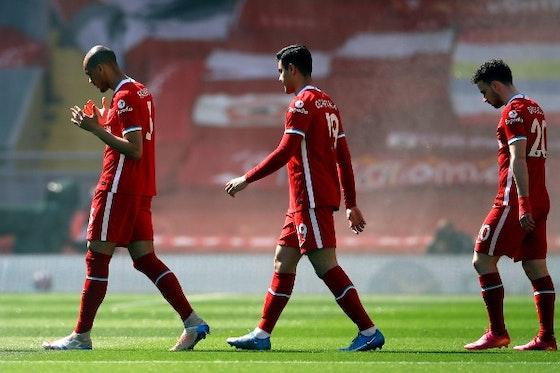 Article image: https://image-service.onefootball.com/crop/face?h=810&image=https%3A%2F%2Ficdn.caughtoffside.com%2Fwp-content%2Fuploads%2F2021%2F05%2FFabinho-Kabak-Liverpool-FC.jpg&q=25&w=1080