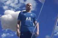 Photo: Paris Saint-Germain unveil new 2021/22 Jumpman home shirt