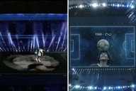 (Video) Unbelievable Copa America tribute to Diego Maradona, includes insane hologram doing kick-ups