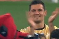 (Video) Dejan Lovren beaming as Zenit teammate dresses up as Deadpool to collect Russian Premier League medal