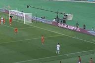 (Video) Shaqiri's well-taken set-piece assists Embolo's opener in Switzerland v Wales clash