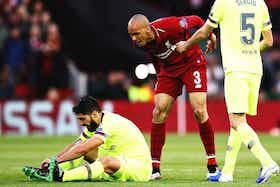 Article image: https://image-service.onefootball.com/crop/face?h=810&image=https%3A%2F%2Ficdn.empireofthekop.com%2Fwp-content%2Fuploads%2F2021%2F07%2FFabinho-Suarez-Liverpool.jpg&q=25&w=1080
