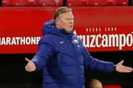 Barcelona considering future of boss Ronald Koeman