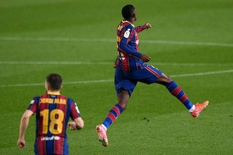 Article image: https://image-service.onefootball.com/resize?fit=max&h=720&image=https%3A%2F%2Ficdn.football-espana.net%2Fwp-content%2Fuploads%2F2021%2F03%2FOusmane-Dembele-1020x680.jpg&q=25&w=1080