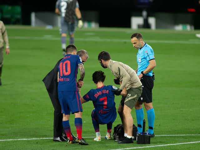 Joao Felix and Luis Suarez miss Atletico Madrid's clash with Eibar