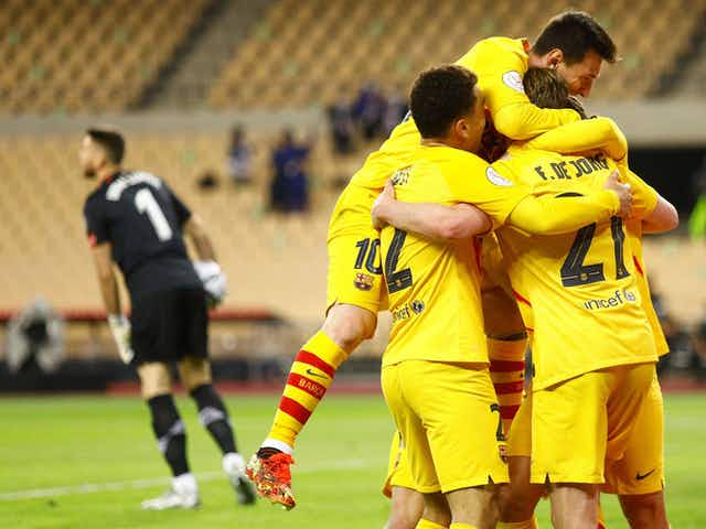 Barcelona and Getafe name starting lineups ahead of crucial La Liga clash