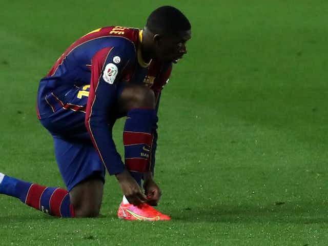 Barcelona star Ousmane Dembele confident over extension talks
