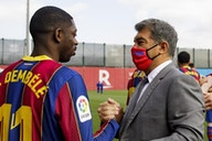 Ousmane Dembélé wants Barcelona stay amid Joan Laporta approval